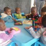 Using educational equipment in the Early Learning programme
